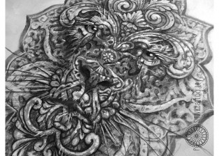 dovydas klimavicius positive tattoo lion23